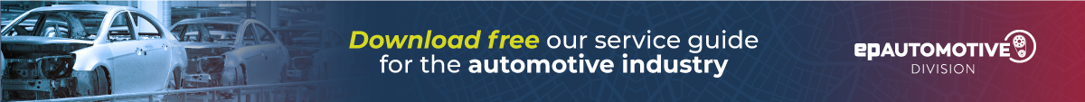 Download free our service guide to the automotive industry