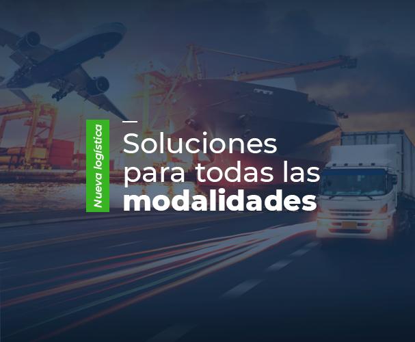Nueva normalidad logística - soluciones para todas las modalidades