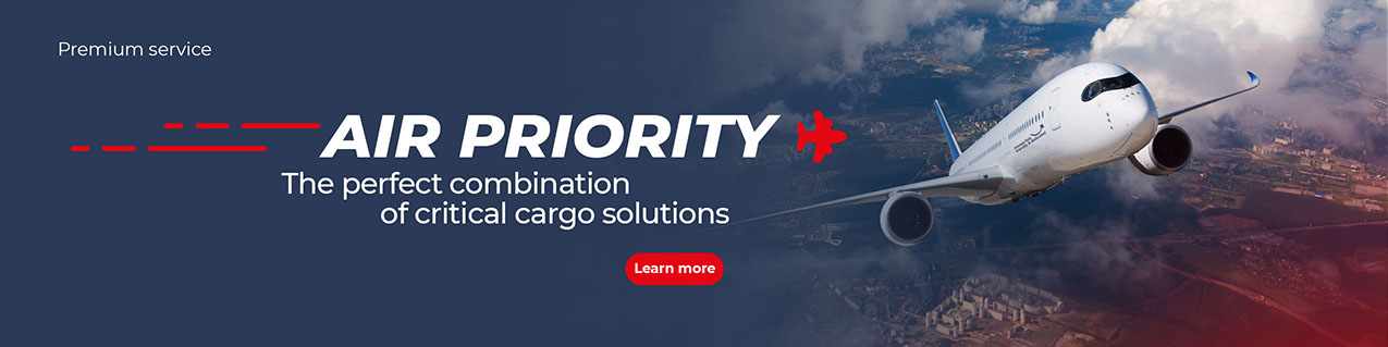 AIR PRIORITY: The perfect combination of critical cargo solutions
