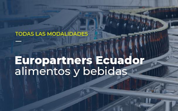 Europartners Ecuador: alimentos y bebidas en todas las modalidades